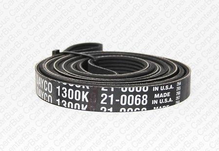 130 in 6 groove serpentine belt
