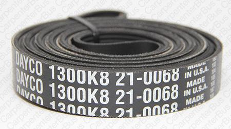 130 in 8 groove serpentine belt
