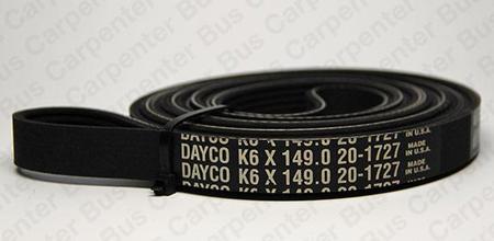 149 in 6 groove belt