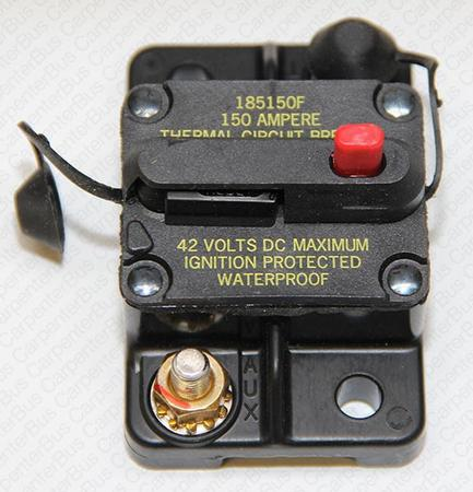 150 AMP manual reset circuit breaker