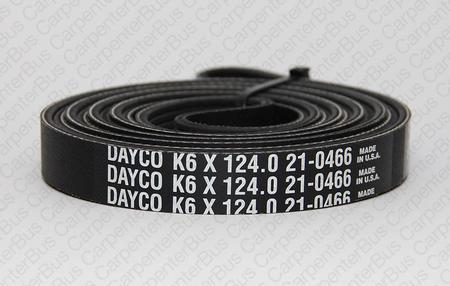6 in groove belt