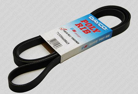 86.5 in 6 groove belt