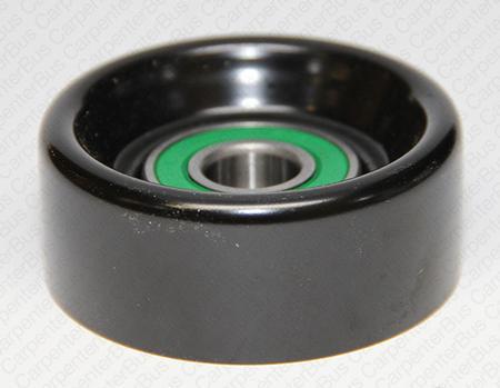 backside idler pulley