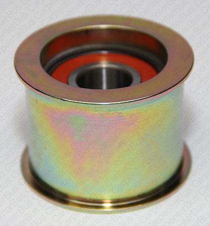 flanged DBL bearing smooth idler