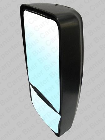 mirror, head only, black, manual new style Rosco