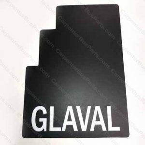 BX050050 SET GLAVAL MUD FLAPS