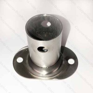 TL400 STAINLESS FITTING WITH FLANGE 2 HOLE