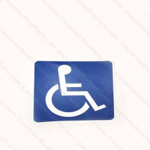 BX051163 WHEELCHAIR LIFT DECAL