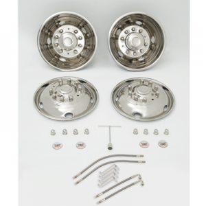 NF25M SET 19.5 INCH FORD F550 WITH VALVE EXTENSIONS